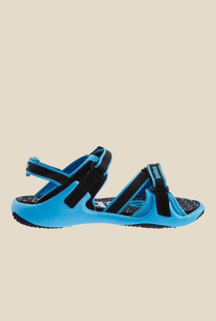 Reebok Adventure Grail Blue & Black Floater Sandals