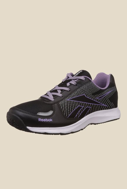 Reebok Extreme Speed V Black & Purple Running Shoes