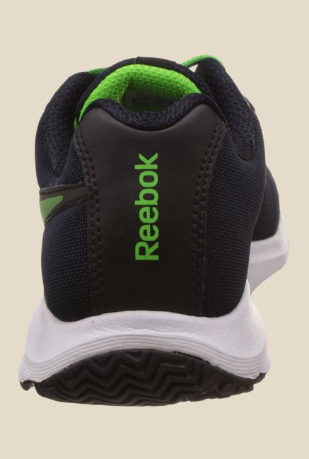 Reebok Navy & Black Running Shoes