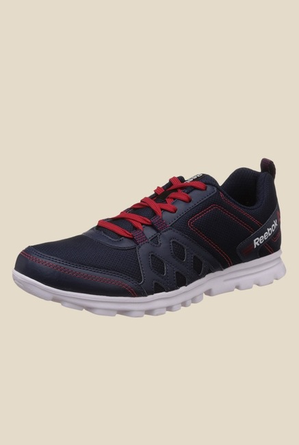 Reebok Run Fusion 2.0 Navy & Red Running Shoes