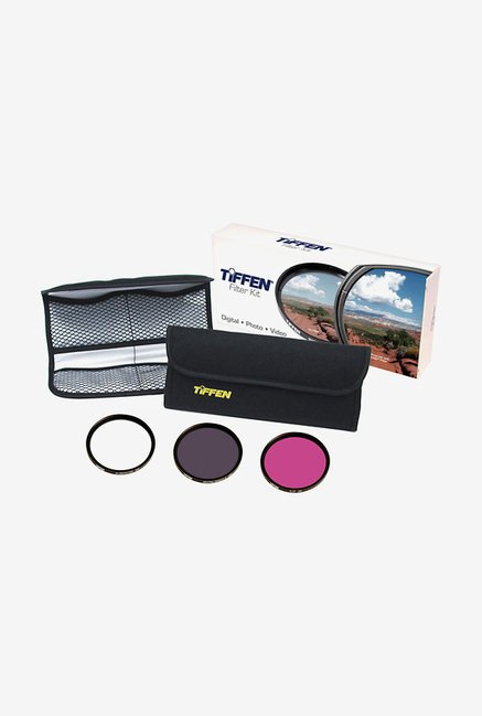 Tiffen 49mm Deluxe 3 Filter Kit (Black)