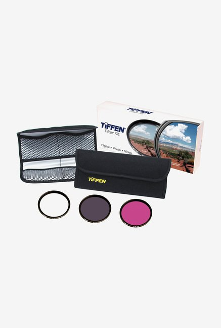 Tiffen 52mm Deluxe 3 Filter Kit (Black)