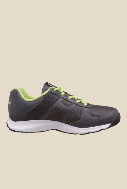 Reebok Extreme Speed V Black & Green Running Shoes