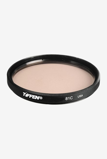 Tiffen 55mm 81C Light Balancing Filter (Black)
