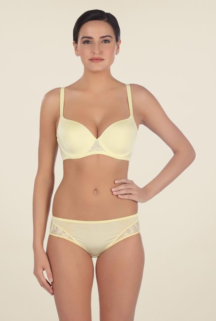 Triumph Yellow Fashion Midi Panty