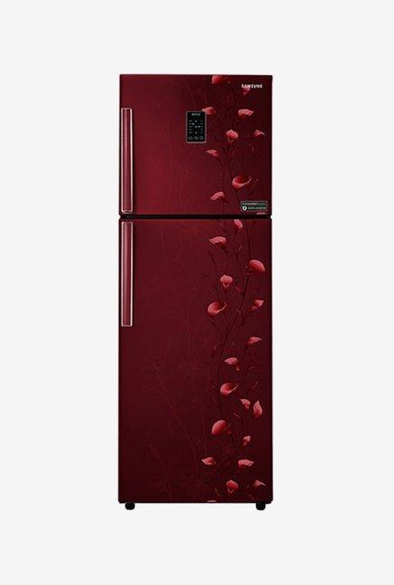 Samsung RT34K3983RZ 318 L Refrigerator (Tender Lily Red)