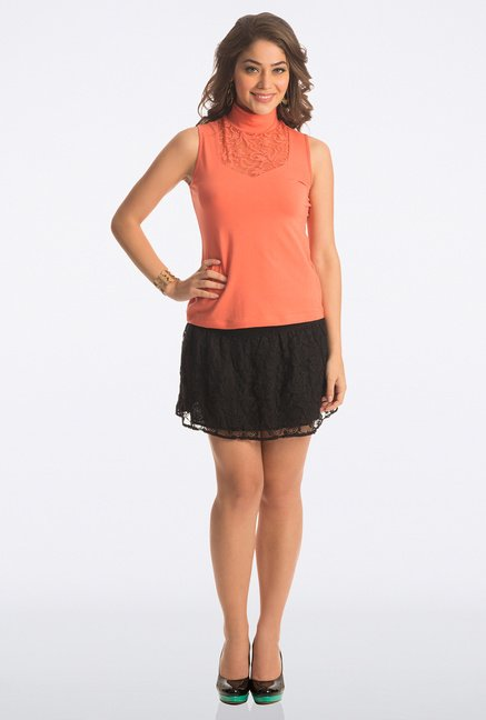 PrettySecrets Orange Solid Top