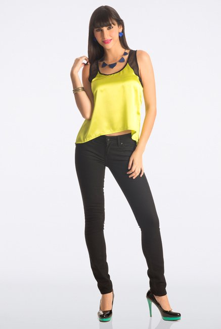PrettySecrets Yellow Solid Top