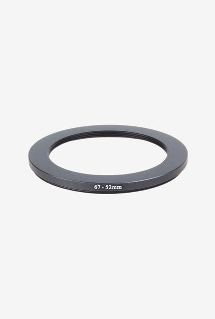 Neewer 67-52mm Step-Down Filter Adapter Ring (Black)