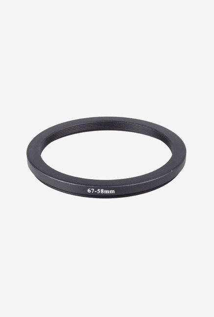 Neewer 67-58mm Step-Down Filter Ring Adapter (Black)