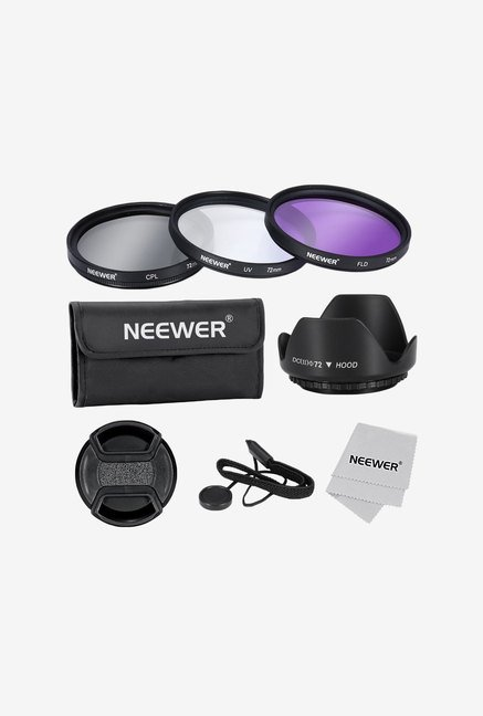 Neewer 72mm Lens Filter Accessory Kit for Lenses with Thread