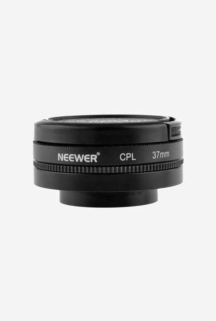 Neewer 37mm CPL Filter Universal Filter Adapter (Black)