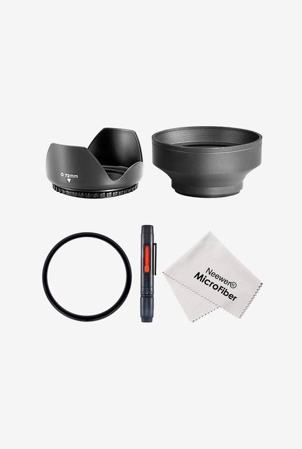 Neewer 72mm Professional Filter Accessory Kit (Black)