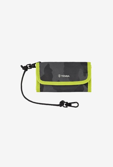 Tenba 636-219 Reload CF 6 Card Wallet (Black/Lime)