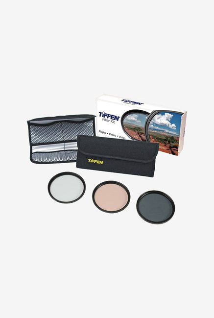 Tiffen 46TPK1 46mm Photo Essentials Filter Kit