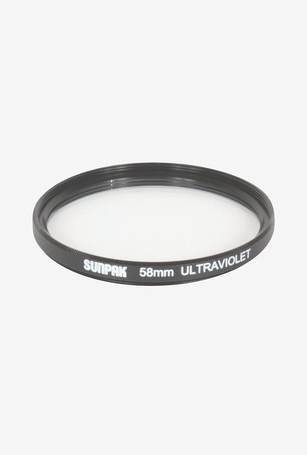 Sunpak Df-7034-Uv 58mm Coated Ultra-Violet Filter (Clear)