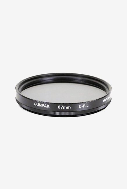 Sunpak Cf-7061-Cp 67mm Circular Polarized Filter (Black)