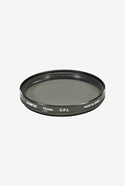 Sunpak Cf-7062 Cp 72Mm Circular Polarized Filter (Black)