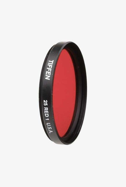 Tiffen 49mm Glass Filter for Black & White Film (Red 25)