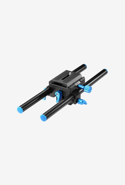 Neewer Aluminum 15Mm Rail Rod Support System (Black)