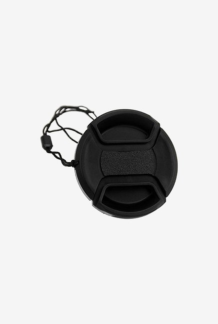 Fotodiox 55Mm Inner-Pinch Lens Cap with Cap Keeper (Black)