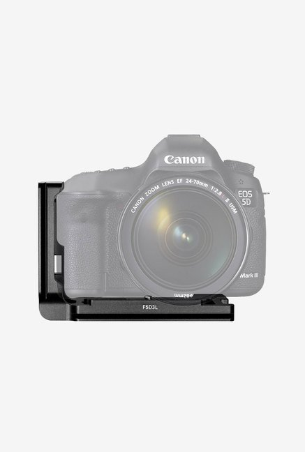 Neewer Aluminum Qr L-Plate Bracket For Canon (Black)