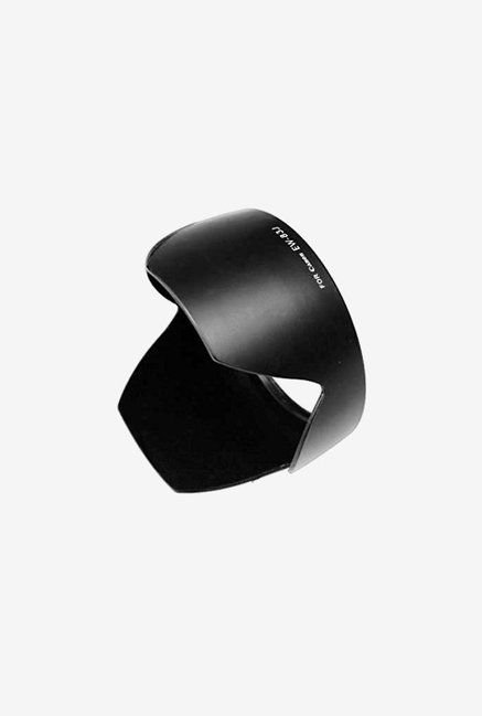 Fotodiox Dedicated Lens Hood, for Canon Eos Ef-S (Black)