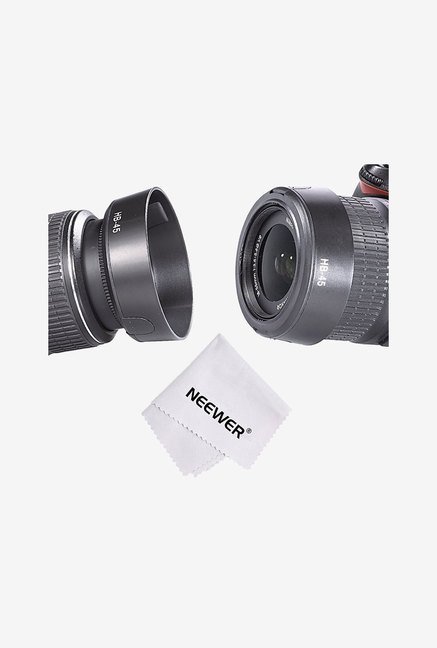 Neewer Camera Lens Hood For Nikon (Black)