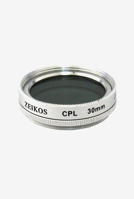 Zeikos ZE-CPL30 30MM Circular Polarizer Glass Filter (Black)
