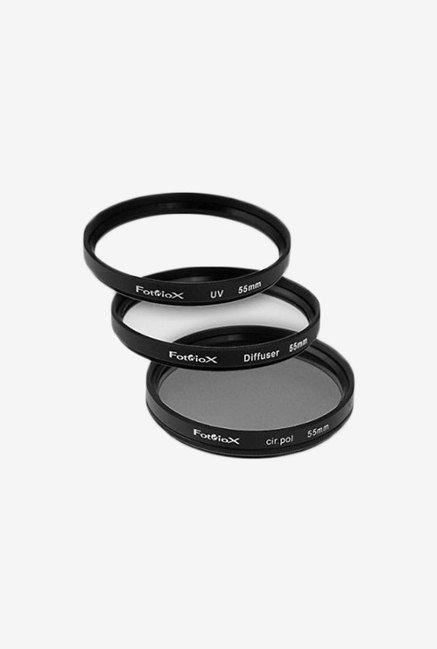 Fotodiox Filter Kit UV Circular Polarizer Soft Diffuser 55mm