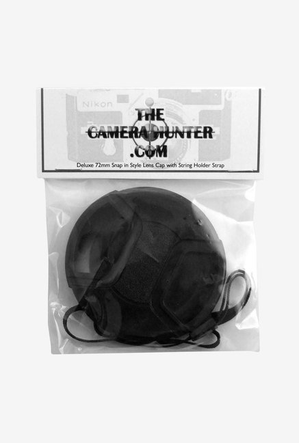 The Camera Hunter CANT81058 72mm Camera Lens Cap (Black)
