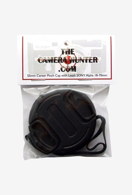 The Camera Hunter CS-8-0230 55mm Camera Lens Cap (Black)