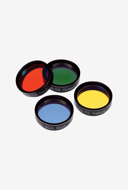 Orion 5514 Basic Set of Four Color Filters (Black)