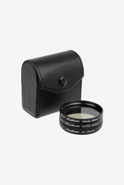 Fotodiox 10FLT-49KIT1 Filter Kit (Black)
