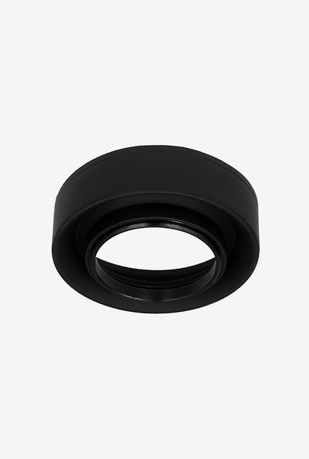 Fotodiox 3-Section Rubber Lens Hood 62 mm (Black)