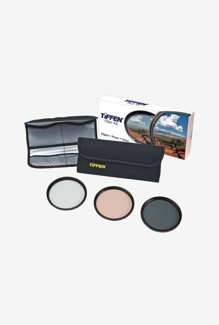 Tiffen 55TPK1 55mm Photo Essentials Filter Kit