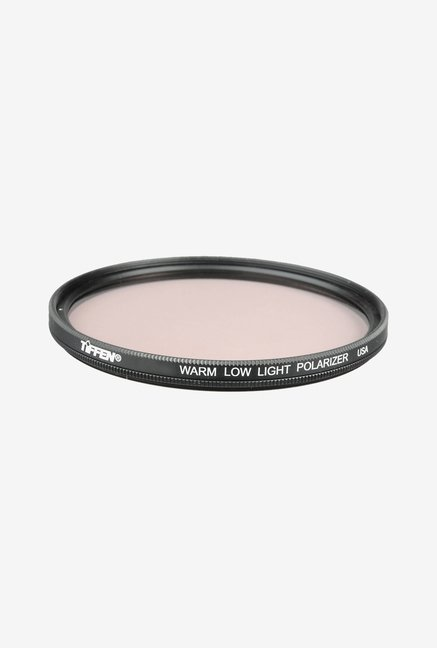 Tiffen 52mm Warm Low Light Linear Polarizer Filter (Black)