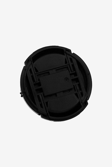 Fotodiox 62Mm Inner-Pinch Lens Cap, with Cap Keeper (Black)