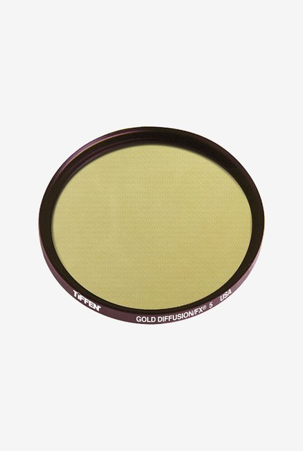 Tiffen 67GDFX5 67mm Gold Diffusion 5 Filter (Black)