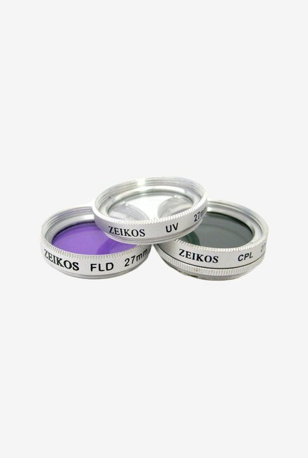 Zeikos ZE-FLK27 27mm Multi-Coated 3 Piece Filter Kit