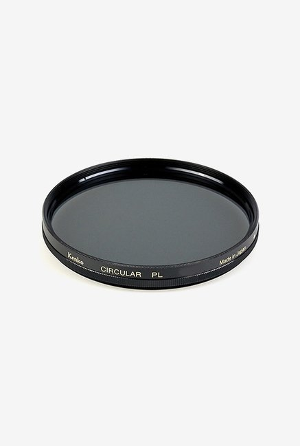 Kenko 58mm Standard Coated Circular Polarizer Filter (Black)