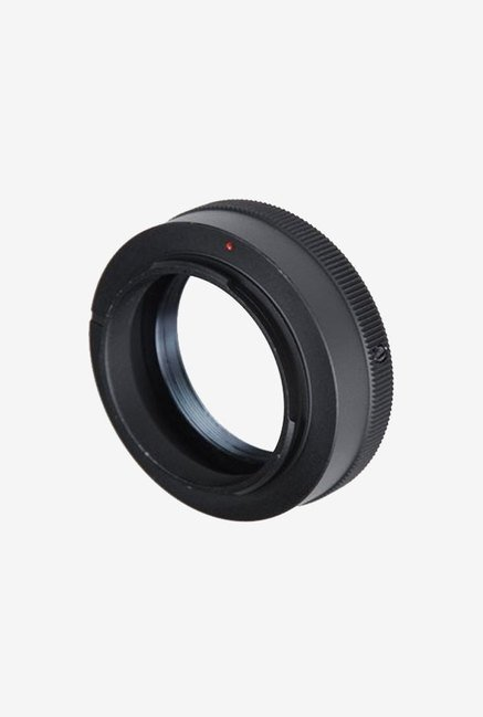 Fotodiox T/T2 Lens Mount Adapter for Om 4/3 -Camera (Black)