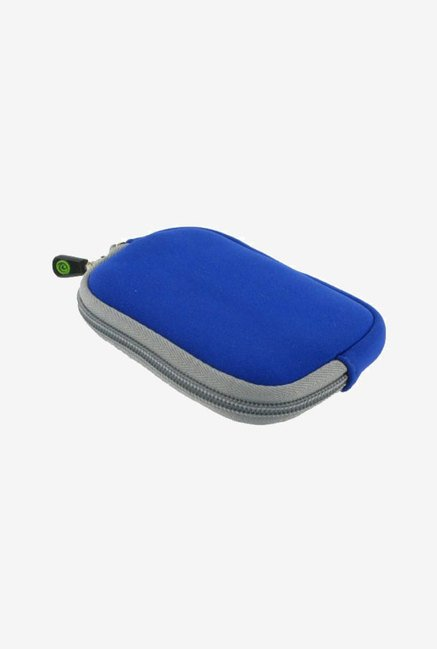 Young Micro Sleeve Case for JVC PICSIO Camcorder (Blue)