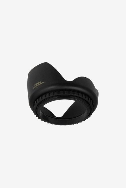 Fotodiox 58mm Type 2 Tulip Flower Lens Hood (Black)