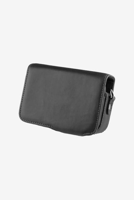 TechCare Leather Camera Case for Canon SX280 HS (Black)