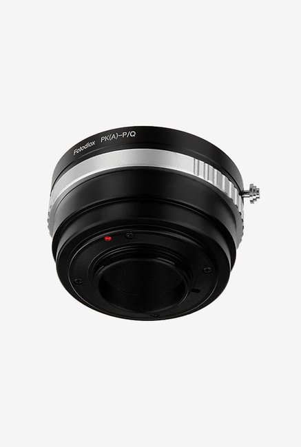 Fotodiox 11LA-PK-PK-Q-NEW Lens Mount Adapter (Black/Silver)