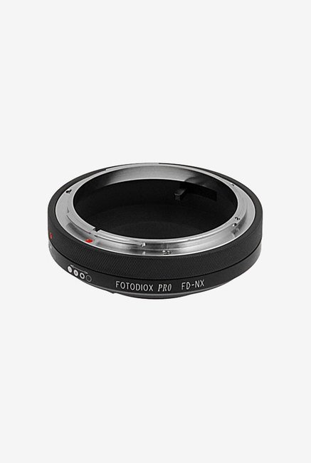 Fotodiox FD NX Lens Mount Adapter (Black/Silver)