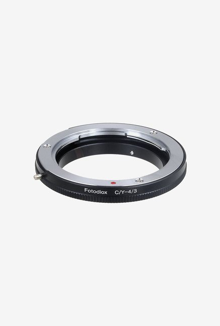 Fotodiox CY-OM4/3 Lens Mount Adapter (Black/Silver)