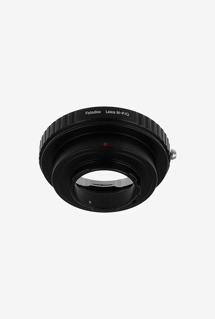 Fotodiox LEICA M - PQ Lens Mount Adapter (Black/Silver)