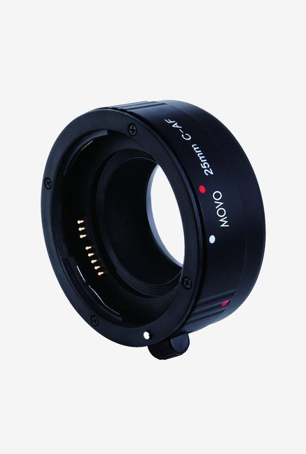 Movo EXT-C25P Photo AF 25mm Macro Extension Tube (Black)